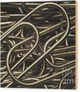 Yin-yang Wood Print by Luke Moore