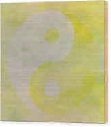 Yinyang 6 Wood Print