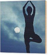 Yoga Balance Wood Print