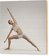 Yoga Side Angle Pose Wood Print