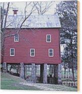 York Grist Mill Wood Print
