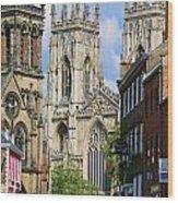 York Minster 6172 Wood Print
