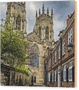 York Minster England Wood Print