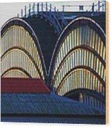 York Train Station # 3 Wood Print