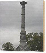 Yorktown Monument Wood Print