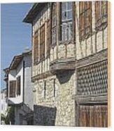 Yoruk Village Street Wood Print