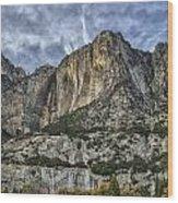 Yosemite Falls Dry Wood Print