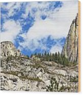 Yosemite Granite Wood Print
