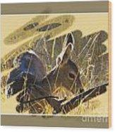 Yosemite Np Wildlife - Doe Wood Print