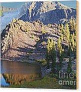 Yosemite Reflection Wood Print by Eva Kato
