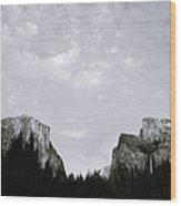 Serenity Of Yosemite Wood Print