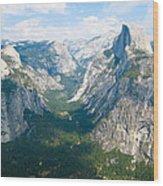 Yosemite Summers Wood Print