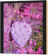 You Are The Water For My Heart 3 Wood Print