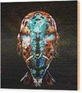 Young Alien Warrior Wood Print