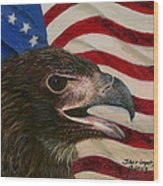 Young Americans Wood Print by Sherryl Lapping