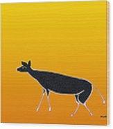 Young Antelope Wood Print