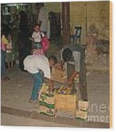 Young Egytian Entrepreneurs Wood Print
