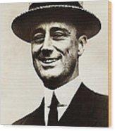Young Franklin  Roosevelt Wood Print