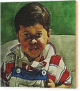 young Giovanni Wood Print