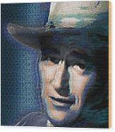 Young John Wayne Pop 2 Wood Print