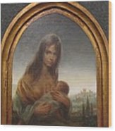 Young Mother Of Urbino Wood Print