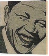 Young Nelson Mandela Wood Print