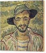 Young Peasant Wood Print