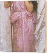 Young Priestess Wood Print