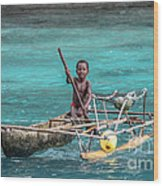 Young Seaman Wood Print