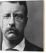 Young Theodore Roosevelt Wood Print by Bill Cannon