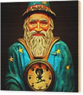 Your Fortune Be Told By The Wizard Fortune Telling Machine 7d144 Wood Print