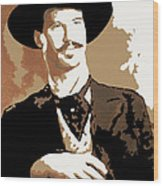 Your Huckleberry Wood Print