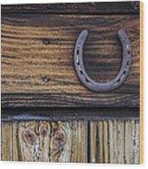 Your Lucky Horseshoe Wood Print