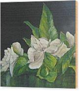 Your Mother's Gardenias Wood Print