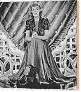 Youre A Sweetheart, Alice Faye, 1937 Wood Print