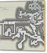 Yrchyn The Tyrant Kobold Lair Map Wood Print