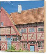 Ystad Old Mayors House Wood Print