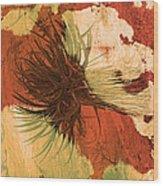 Yucca Abstract Warm Wood Print
