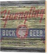 Yuengling Bock Beer Wood Print