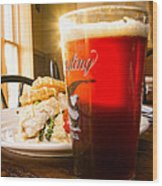 Yuengling Sparkle Wood Print