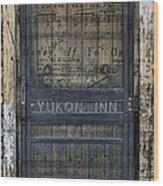 Yukon Inn Paradise Michigan Wood Print