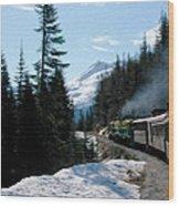 Yukon Railroad Wood Print
