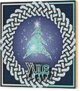Yule Festival Wood Print
