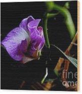 Yuneah's Flower Wood Print