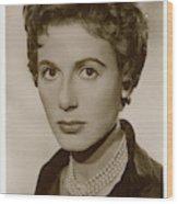 Yvonne Mitchell (1915 - 1979), British Wood Print