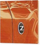 Z Emblem P Wood Print