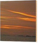 Z Of The Sun Wood Print
