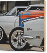 Z28 In White Wood Print