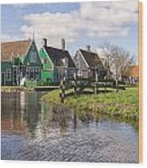 Zaanse Schans Wood Print by Joana Kruse
