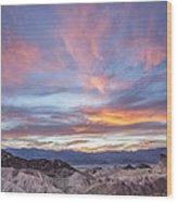 Zabriski Colors Wood Print by Jon Glaser